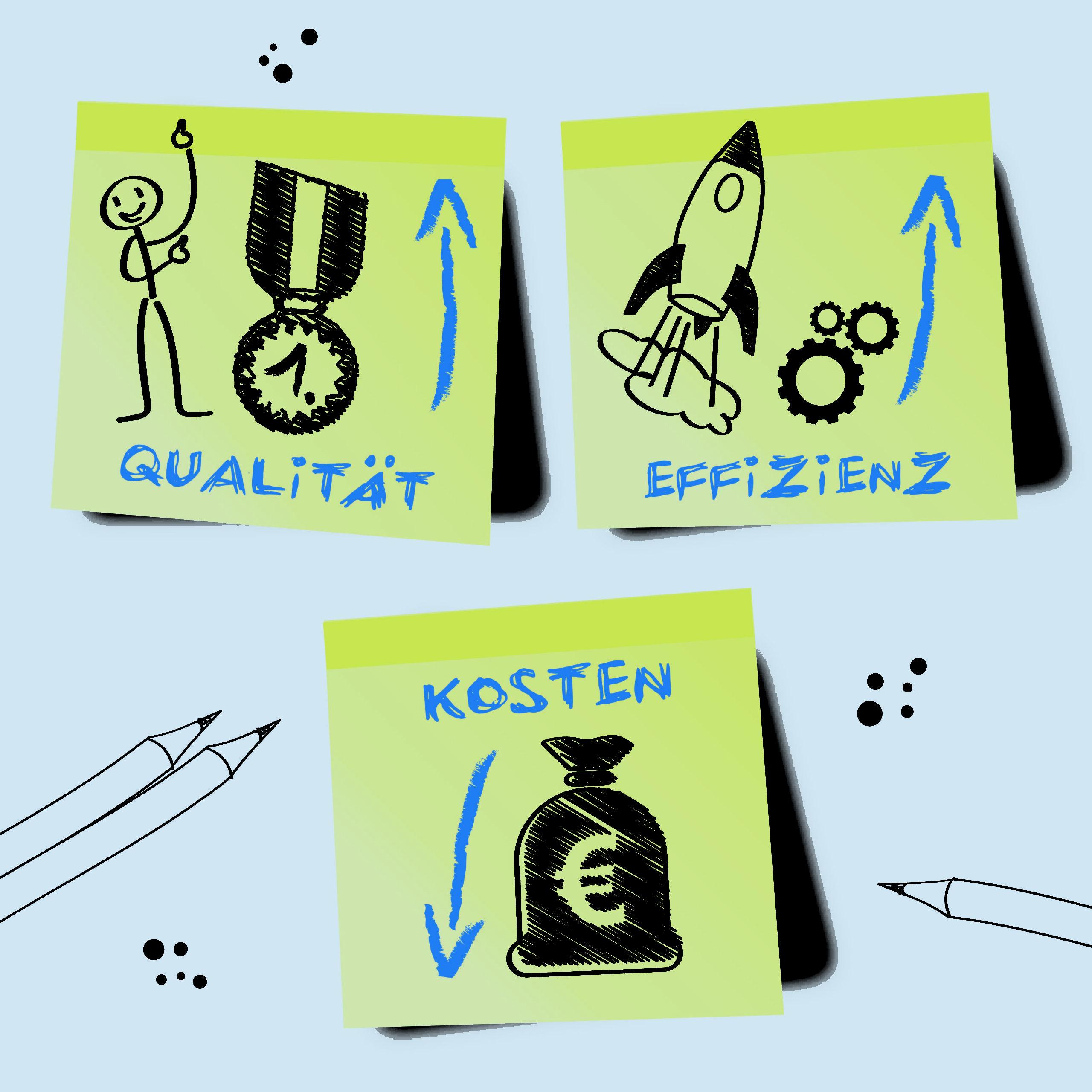 Qualität - Effizienz - Kosten