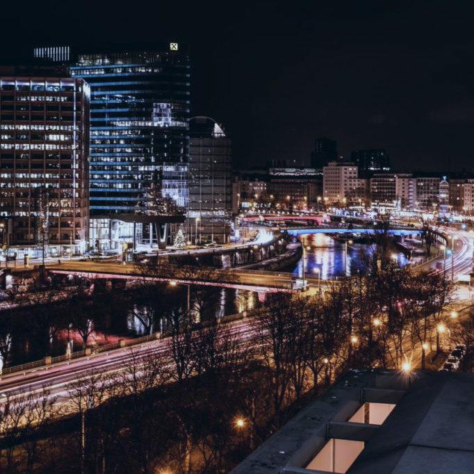 Wiener Stadtportrait bei Nacht