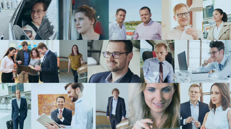 Collage of EFS Consulting employees