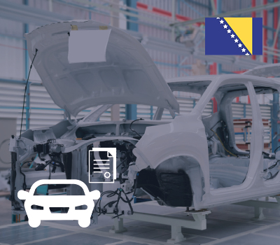 UNECE for vehicle components in Bosnia